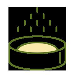 ilustração de um pote com medicamento