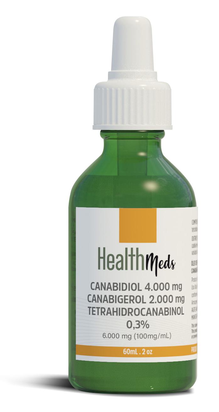 Embalagem de um dos produtos da Health Meds